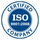 Certified Company ISO 9001:2008