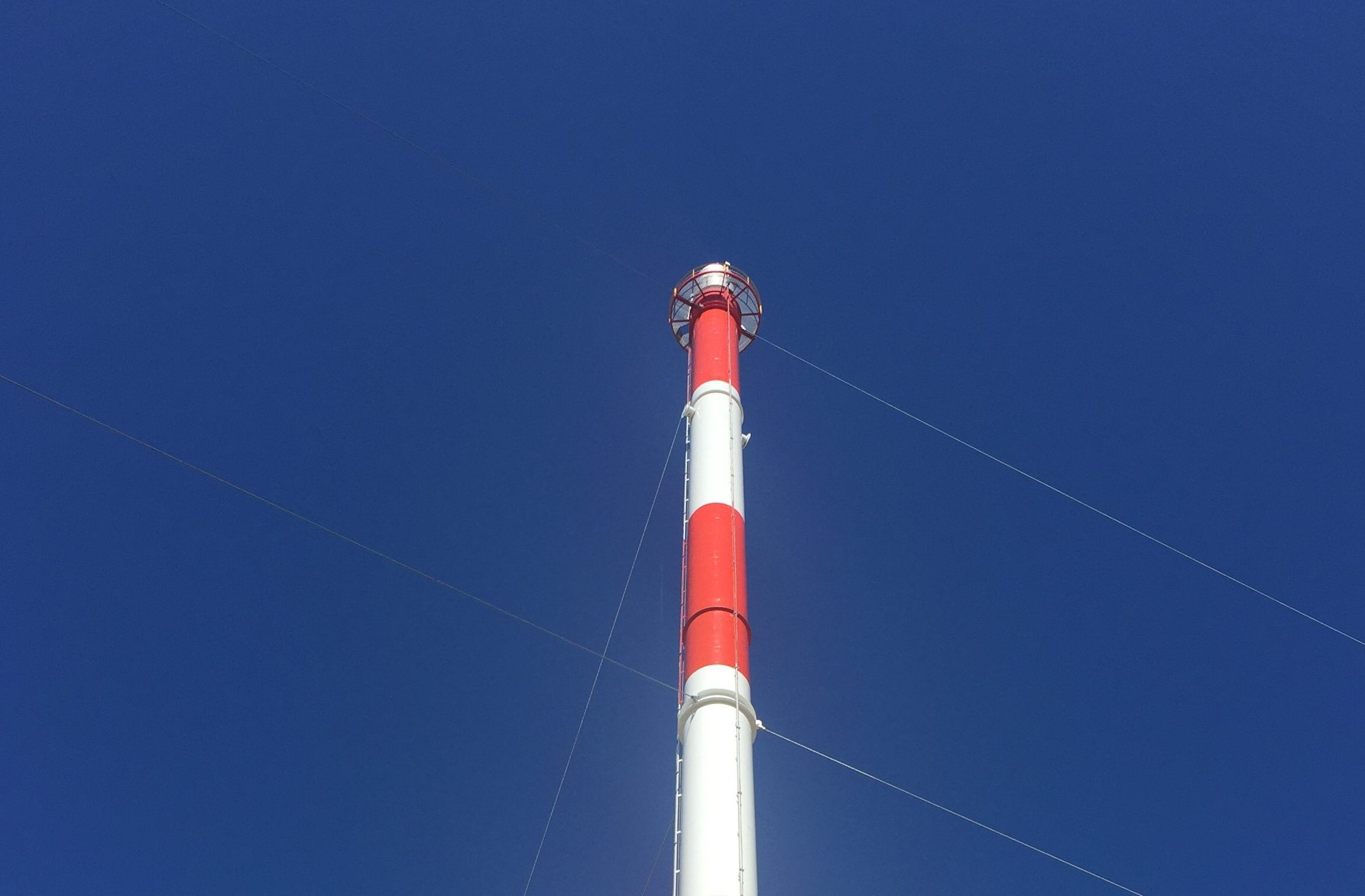 Guy Wire Supported Air-Assisted Flare Stack | Flaretech ...